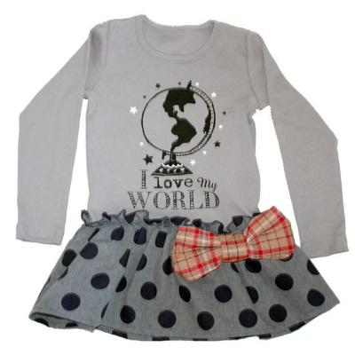 【Misha Lulu 】小世界點點連身洋裝(12m-6y)