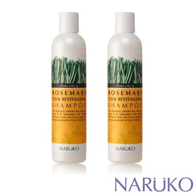 NARUKO牛爾 迷迭香髮絲濃密洗髮精 2入組