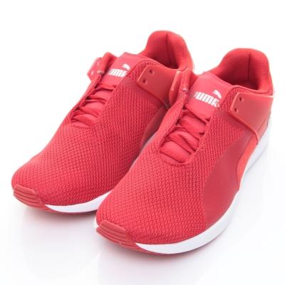 PUMA-F116 SF男慢跑鞋30550703-紅