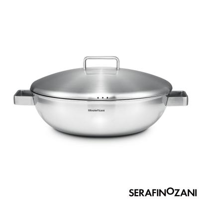 SERAFINO ZANI 尚尼 - MILAN系列雙耳不鏽鋼炒鍋 36cm
