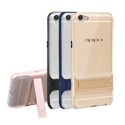VXTRA OPPO R9s Plus 6吋 晶透支架手機殼