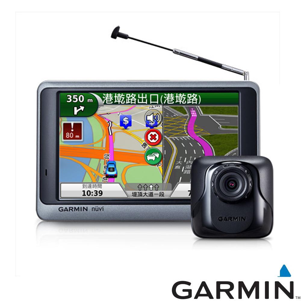 GARMIN nuvi 3595R 5吋數位電視行車記錄衛星導航-快