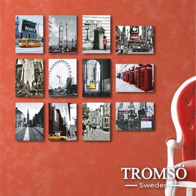 TROMSO時尚無框畫-世界之旅 (12件1幅)