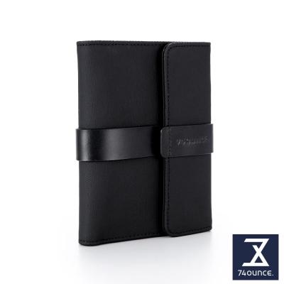 74盎司 Mix 配皮設計中夾[N-559]黑
