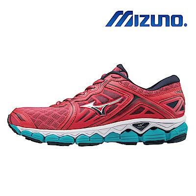 Mizuno 美津濃 WAVE SKY 女慢跑鞋 J1GD170239