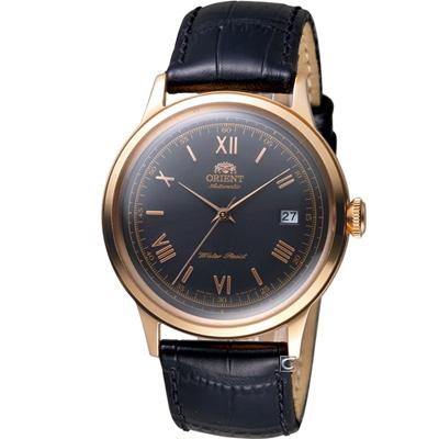 ORIENT東方錶DATE系列羅馬競技場機械錶(FER24008B)