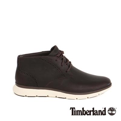 Timberland 男款雕花休閒鞋