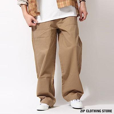 寬版麵包褲(3色) ZIP日本男裝