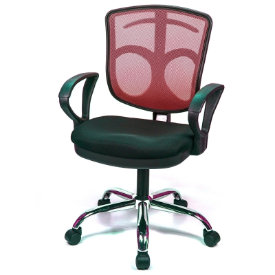 aaronation 愛倫國度 - 小神盾可掛衣金屬座電腦椅五色可選AM-337