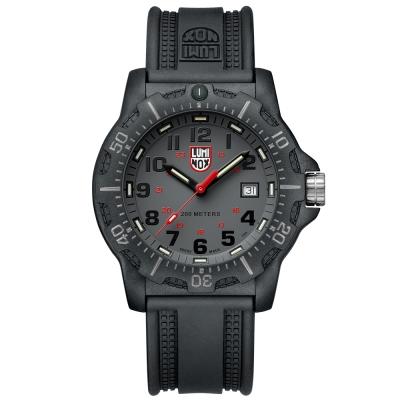 LUMINOX 雷明時Black Ops 8880黑夜行動系列腕錶-灰x黑時標/45mm