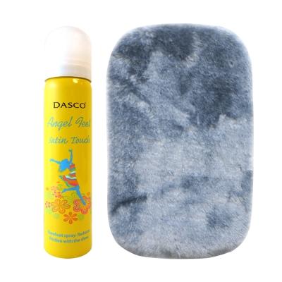 足的美形  英國Dasco不穿襪舒適噴劑+布組X2
