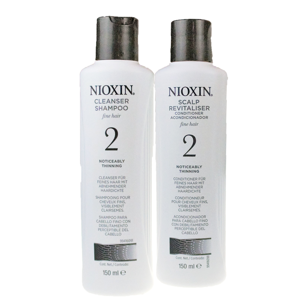 NIOXIN 耐奧森(儷康絲) 組合2號潔髮乳+甦活乳300ML 公司貨