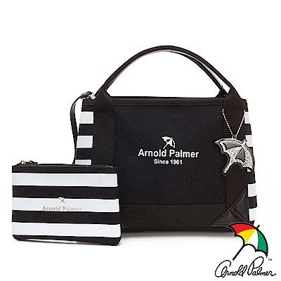 Arnold Palmer- 2WAY手提包 Canvas系列-黑色