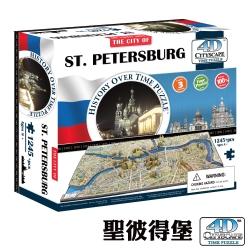 4D Cityscape 4D 立體城市拼圖 - 聖彼得堡 1245 片 +