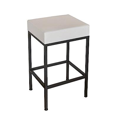 Amos-質感方形吧檯椅(40x35x68)
