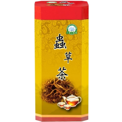 大雪山農場 蟲草茶包(買1大瓶送2小瓶)