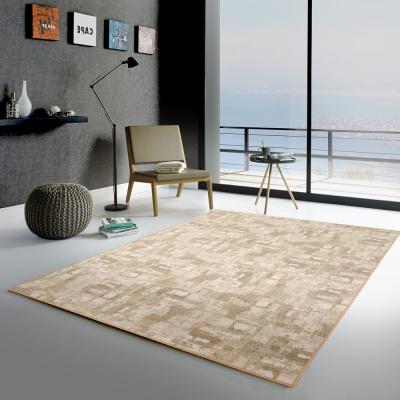 范登伯格 - 朝暘 進口地毯-渲染 - 淺棕 (小款-100 x 150cm)