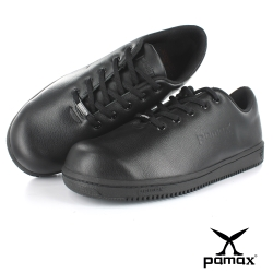 PAMAX帕瑪斯【超彈力雙氣墊止滑鞋】餐飲、廚師、廚房工作鞋、輕量防滑 男女