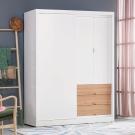 AS-愛德蒙5尺推門衣櫥-151x60.5x200cm