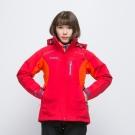 歐都納 GORE-TEX+W.S刷毛兩件式防風防水女款外套 A-G1431W 紅