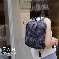 美國【7A.M.】Mini 後揹包(三角幾何)