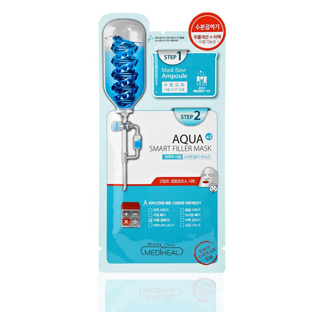 MEDIHEAL 2重奏安瓿雙效特強補水導入面膜 5片/盒