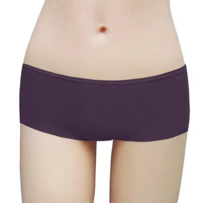 瑪登瑪朵-2014SS低腰平口褲(莓酒紫)