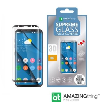 AmazingThing 三星 Galaxy S8 Plus滿版強化玻璃保護貼