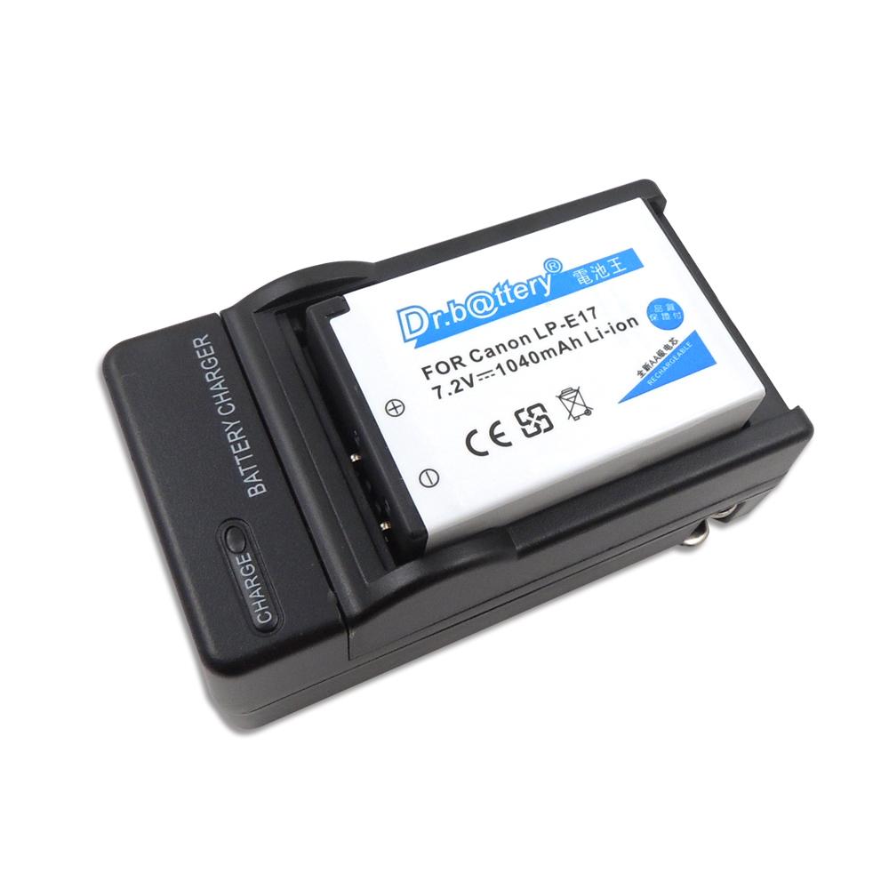 電池王 For Canon LP-E17 高容量相機鋰電池+專用充電器