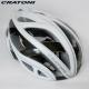 CRATONI 德國專業品牌 TERRON 公路車用安全帽/碳纖維支架-白銀 product thumbnail 1