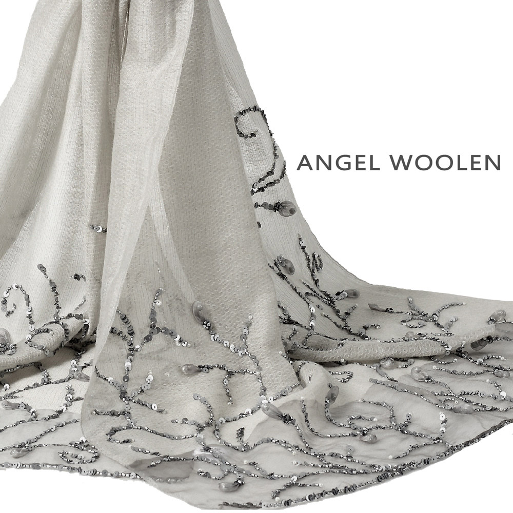 Angel Woolen綻放之美印度手工披肩