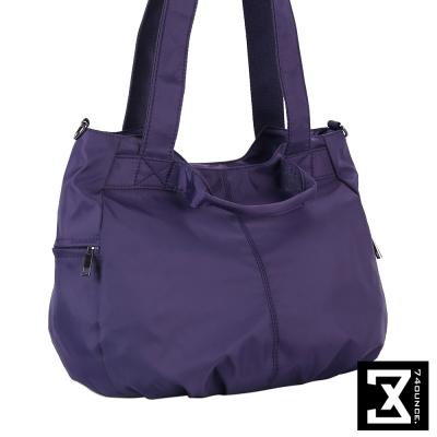74盎司 三用輕便尼龍斜背包[LG-694]紫