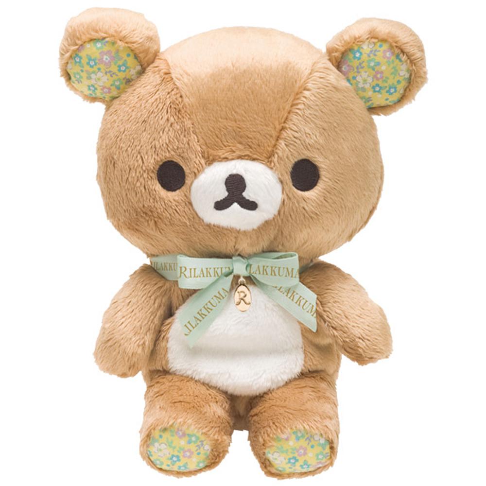 拉拉熊快樂甜心系列毛絨公仔-懶熊