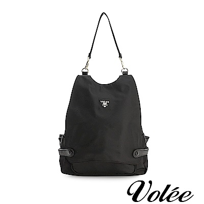 Volee飛行包 - 趣旅行菱形筆電後背包-德國黑
