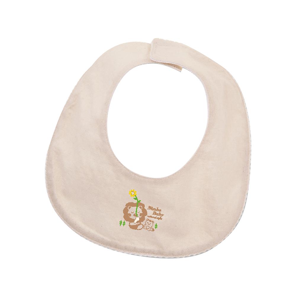 小獅王辛巴 有機棉嬰兒小圍兜