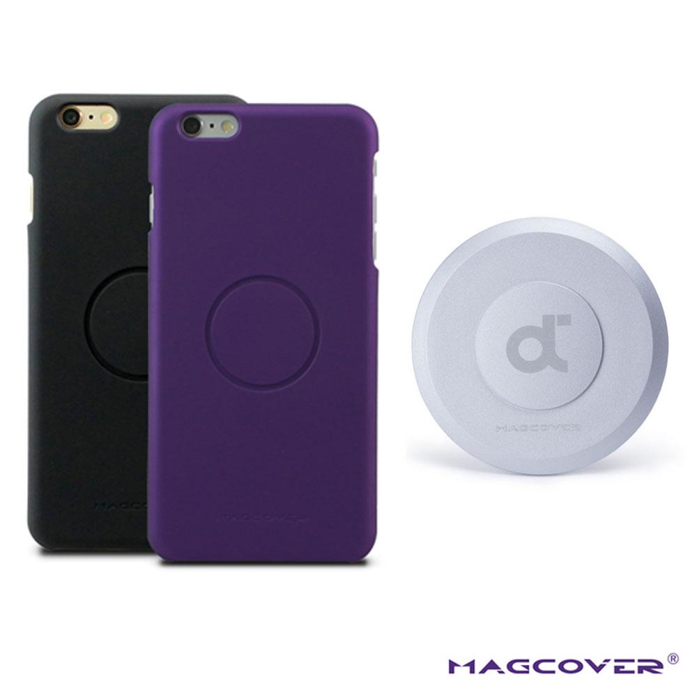 Magcover iPhone6Plus(5.5吋)磁性保護殼+牆壁磁座2入套裝組合