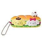 Sanrio 三麗鷗明星趣味麵包店系列造型玩偶吊鍊(布丁狗)