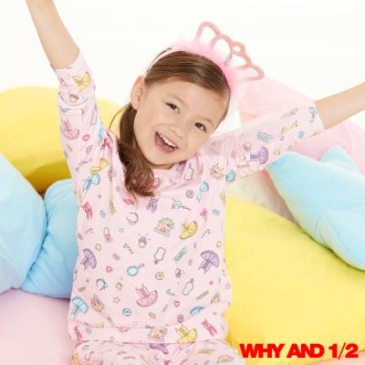 WHY AND 1/2 胡桃鉗家居T恤 粉色2Y~10Y