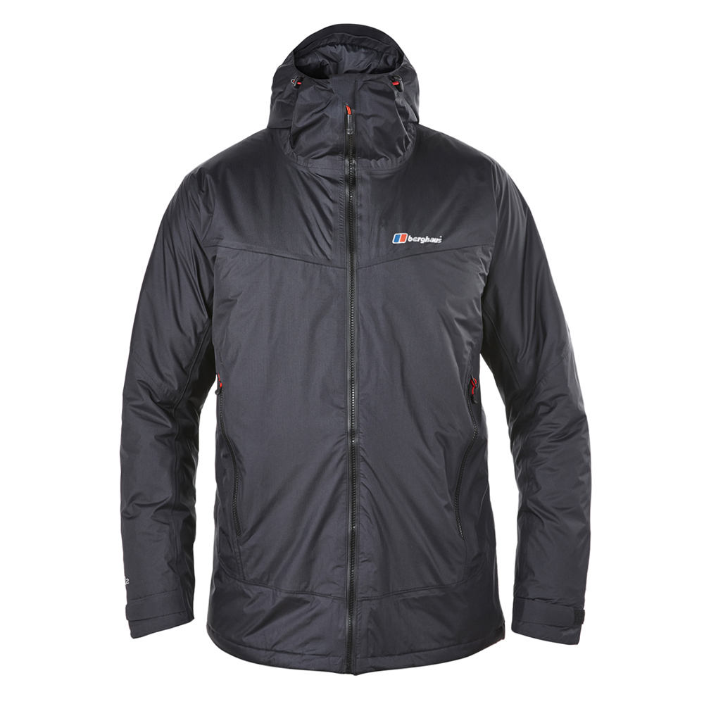 【Berghaus貝豪斯】男款AQ2溫度調節保暖外套H22MU4-黑