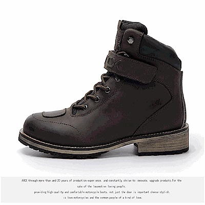 【arcx雅酷士】公路系列 牛皮防水透氣防風工裝鞋靴機車靴