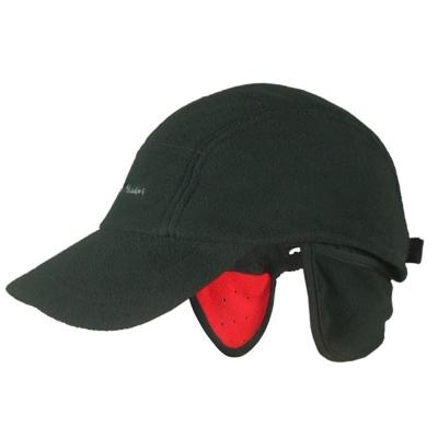 PUSH!戶外用品 防寒保暖防風透氣護耳抓絨帽鴨舌帽