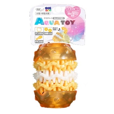 日本TK水叮噹潔牙益智玩具 雞肉漢堡轉輪 WS號