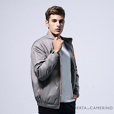 ROBERTA諾貝達 台灣製 高質感 防潑水 厚鋪棉夾克外套 褐色