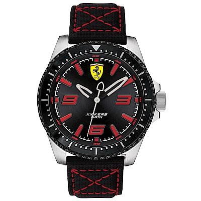 Scuderia Ferrari 法拉利 XX KERS 競速手錶-黑/45mm