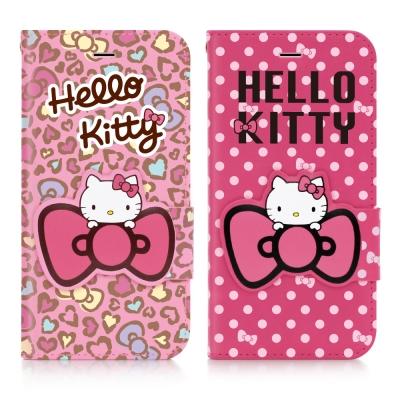 GOMO Hello Kitty iphone 6 /6s 摺疊皮套-花蝴蝶系列