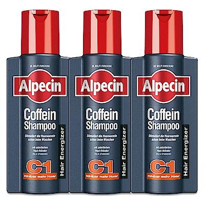 *Alpecin 咖啡因洗髮露 250mlx3入