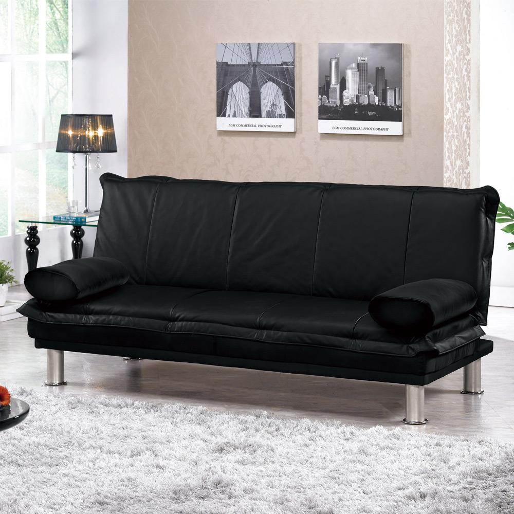 Boden-丹尼皮沙發床(送抱枕)