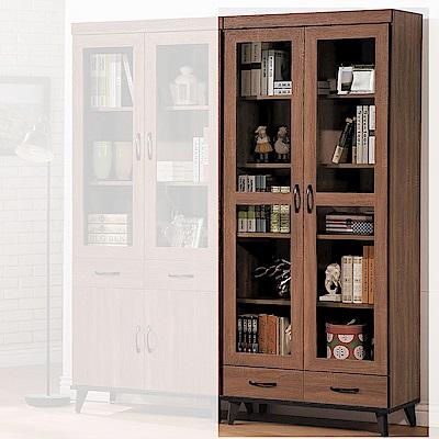 H&D 麥納得淺胡下抽書櫥 (寬80.8X深39.8X高192.5cm)