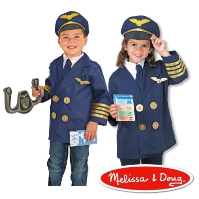 美國瑪莉莎 Melissa & Doug 角色扮演 - 機長服遊戲組