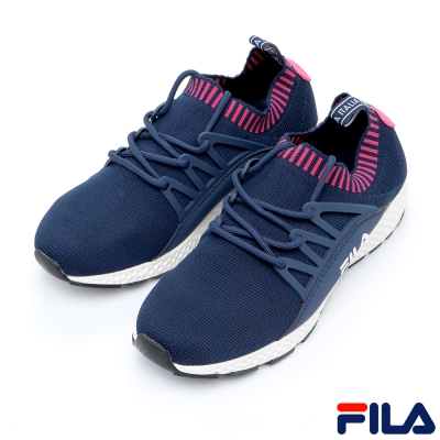 FILA女RELAX輕量多功能慢跑鞋-丈青5-J307R-321